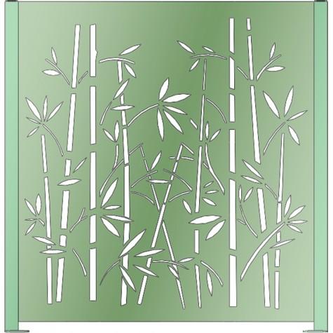 Panneau décor Bambou