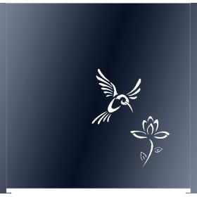 Panneau décor Colibri