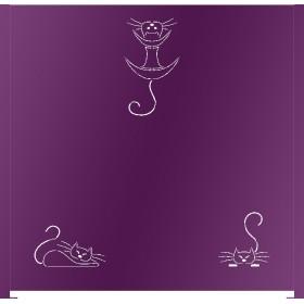 Panneau décor Miaou