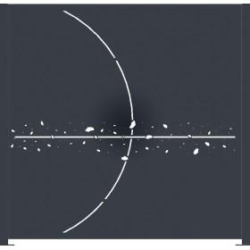 Panneau décor Saturne