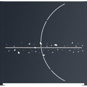 Panneau décor Saturne D