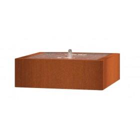 Table d'eau carrée